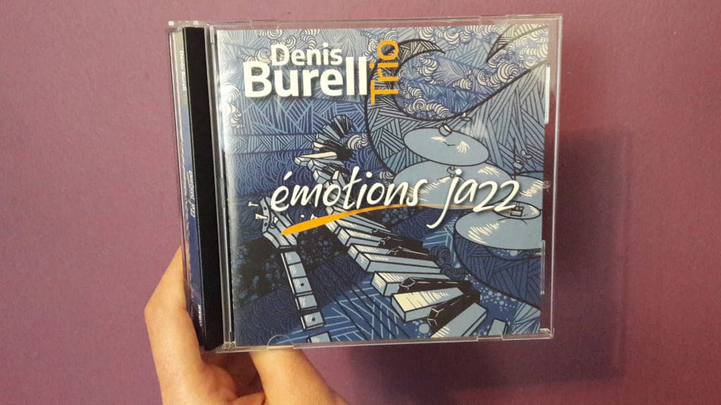 CD Denis Burell Trio Jazz.
